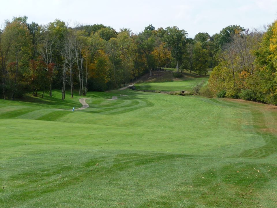 View of the course at Beech Creek
